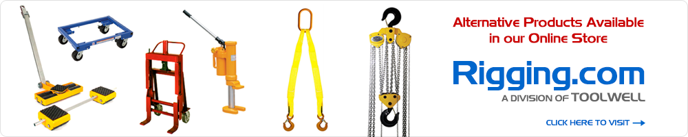 Visit Our Online Store at Rigging.com