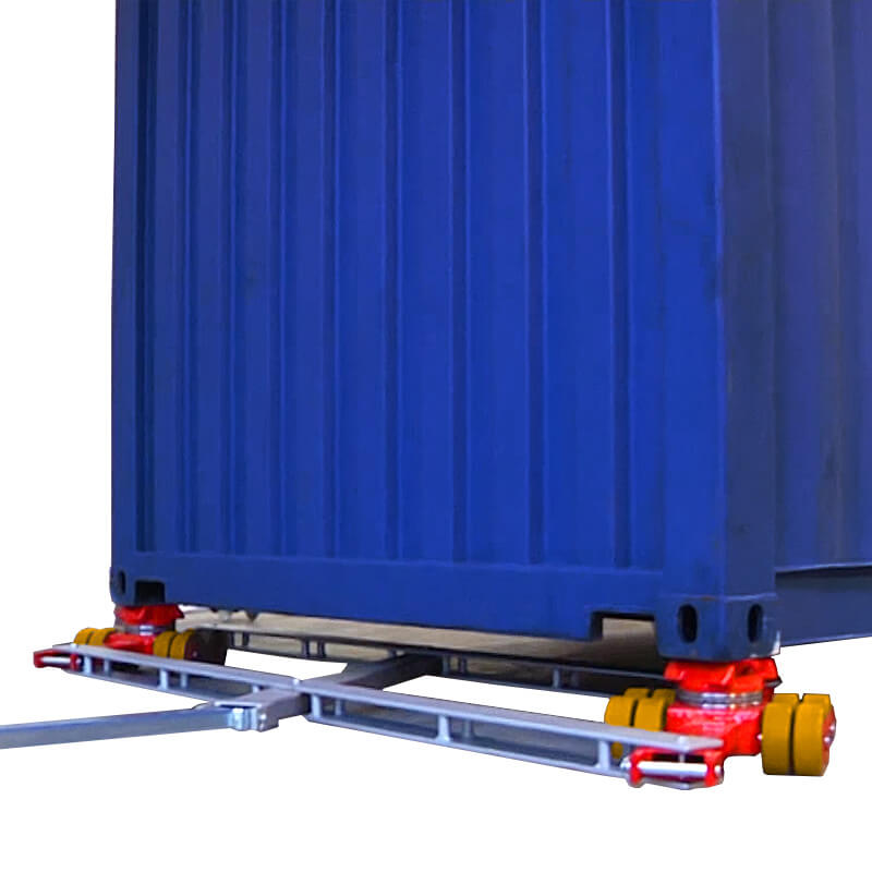 See our selection of freight, shipping and ISO container dollies and skates.