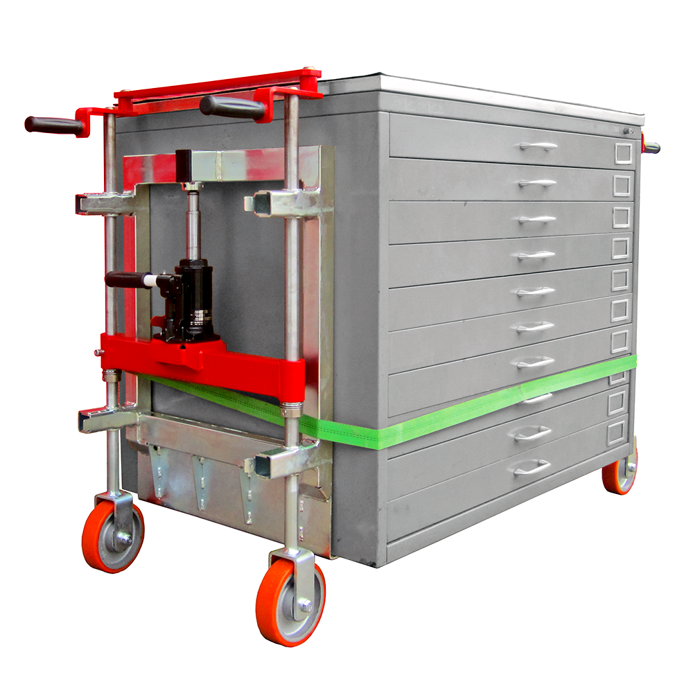 features and functionality of Lift and Roll Dollies. Toolwell is the largest supplier of industrial cabinet movers for cube-shaped load lifting and transport.
